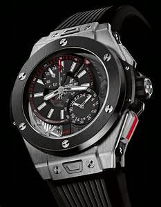 Montre Hublot Geneve : la cote des montres la montre hublot big bang alarm repeater l expression d une parfaite ~ Nature-et-papiers.com Idées de Décoration