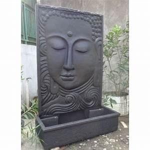 Fontaine Mur D Eau Exterieur : bonareva grande fontaine de jardin mur d 39 eau visage de ~ Premium-room.com Idées de Décoration