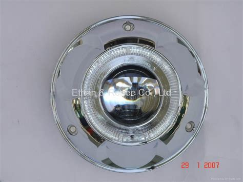 Bi-xenon Hid Universal Projector Headlamp-circle Type