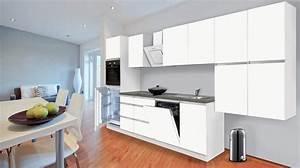 Küchenzeile 240 Cm Mit E Geräten : k chenzeile boston mit e ger ten breite 380 cm otto ~ Watch28wear.com Haus und Dekorationen