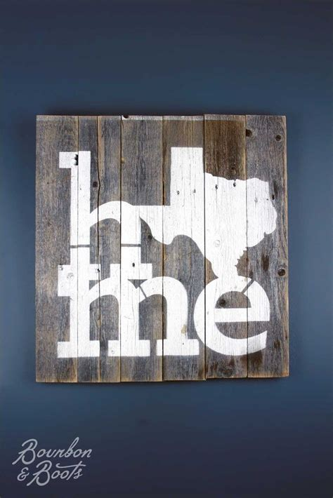 texas home reclaimed wooden sign wooden signs barn wood