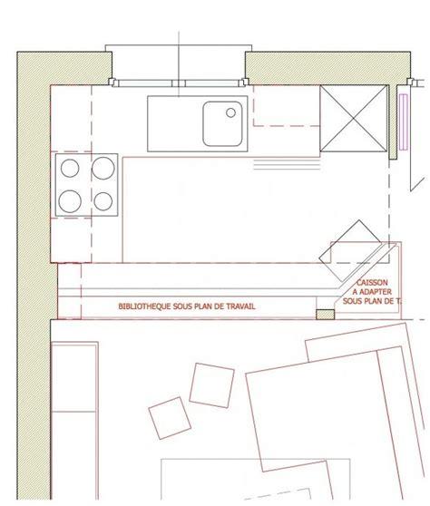 plans cuisine ouverte comment optimiser l 39 aménagement d 39 une cuisine ouverte