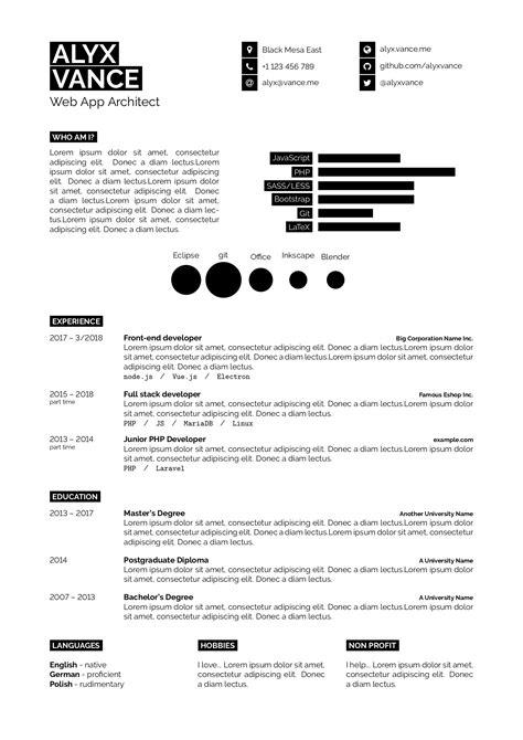 Curriculum Vitae Resume by Templates 187 Curricula Vitae R 233 Sum 233 S