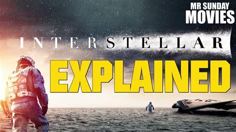 interstellar explained including  youtube