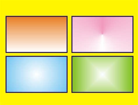 membuat background  gradasi warna  coreldraw