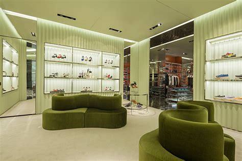 Prada Store in Johannesburg, South Africa