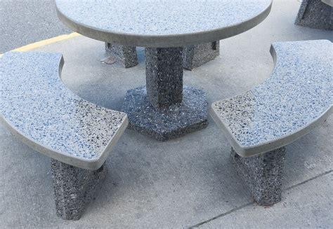 table ronde patio tables rondes en b 233 ton pr 233 fabriqu 233 patio drummond