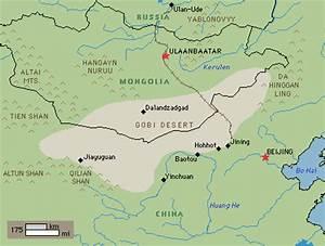 Désert de Gobi (Mongolie) — Chine Informations