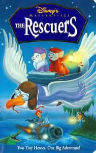 Rescuers Walt Disney Masterpiece Collection VHS