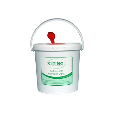 Clinitex Hard Surface Wipes Tub   Disinfectant Wipes