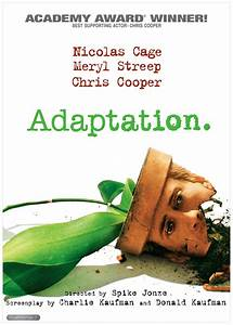 Adaptation. DVD Release Date September 25, 2001