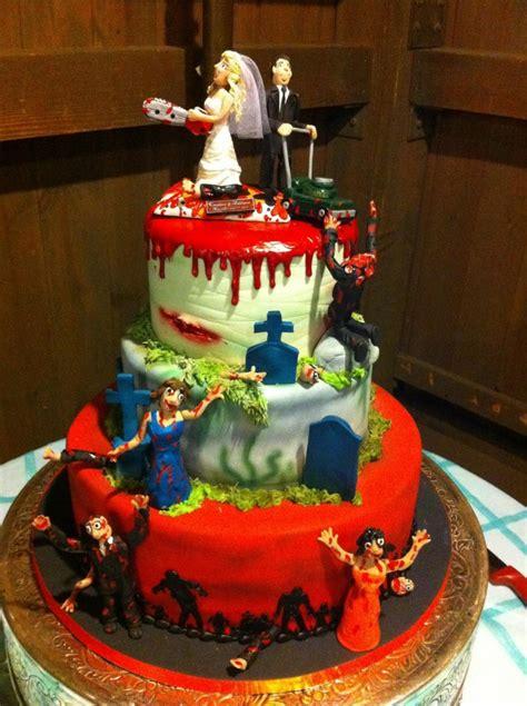zombie wedding cakes decoration ideas  birthday cakes