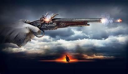 Gun Shooting Guns Wallpapers Firing Pistol Weapon