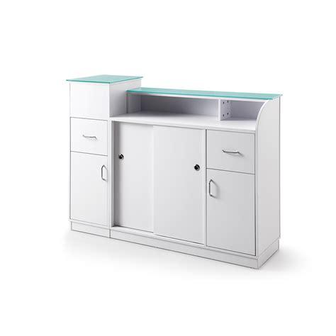 salon reception desk with glass display reception desk with display reception desk retail glass