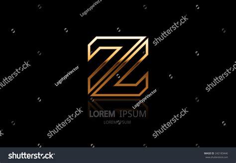 Letter Z Logo. Alphabet Logotype Vector Design