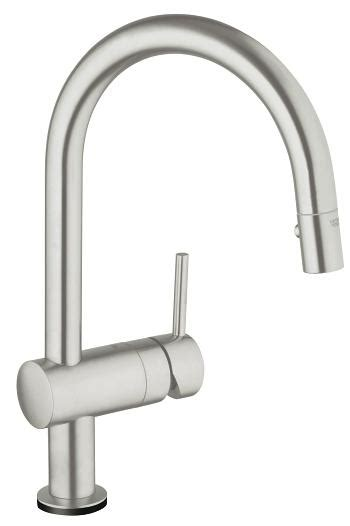 kitchen faucets with touch technology grohe minta touch pull down kitchen faucet with touch technology 31359 dc0 minta kitchen