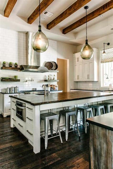 cuisine avec grand ilot central la cuisine équipée avec îlot central 66 idées en photos