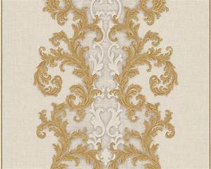 Tapete Barock Gold : tapete vlies barock gold cremewei as creation versace 96232 4 ~ Orissabook.com Haus und Dekorationen