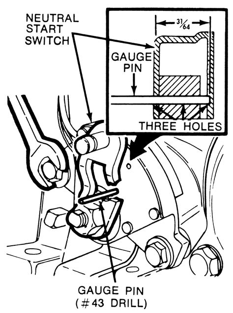 ford c4 transmission neutral safety switch ford wiring diagram