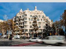 Casa Milà La Pedrera Barcelona Antoni Gaudì