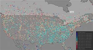 Study: Many US weather stations show cooling, maximum ...  Weather