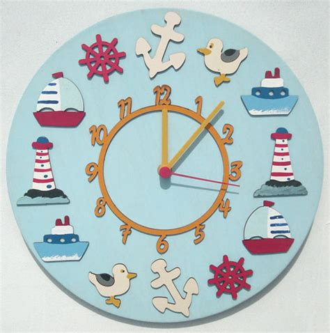 Amusing Wall Clock For Kids Room Decor