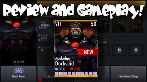 injustice gods among us android apokolips darkseid review injustice gods among us 2 7