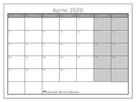 calendario aprile  ld calendario calendari