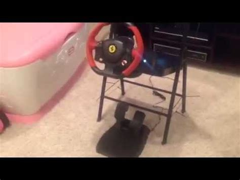 The xbox platform has long been known to be home to some of gaming`s biggest racing franchises this is the ultimate gaming setup for xbox one racing enthusiasts. Forza Horizon 2 Wheel/w Gas Pedals Thrustmaster Ferrari 458 Spider Xbox one Creative setup - YouTube