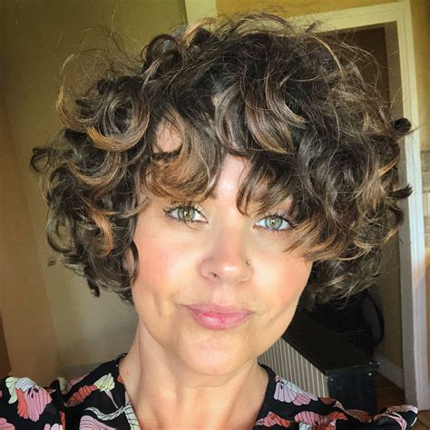 CHOPPED ️ curls curly hair pixie short curly hair
