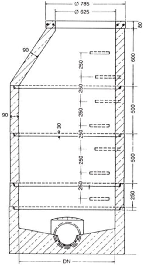 kontrollschacht dn 1000 din 4034 betonwaren und verbundsteinwerk lehnen gmbh