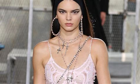 Kendall Jenner's 'nipple piercing that has been showing
