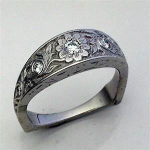 western style wedding rings custom engagements rings and With wedding rings western style