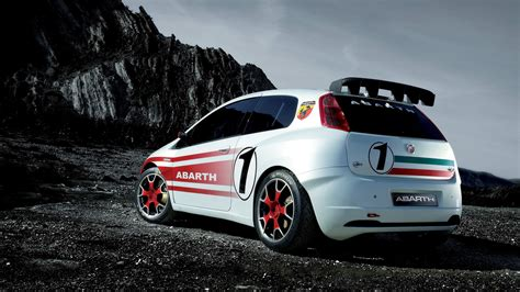 fiat abarth grande punto  wallpapers hd images