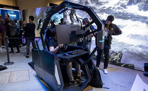 clear out your living room for the acer predator thronos air