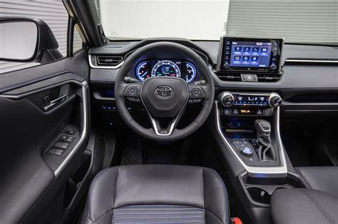 toyota rav hybrid steering wheel  motortrend