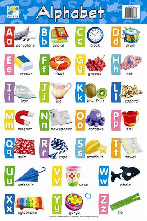 alphabet chart products craft materials stationery office