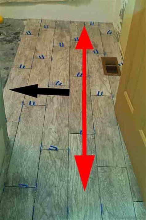 tips  installing wood  tile flooring diytileguy