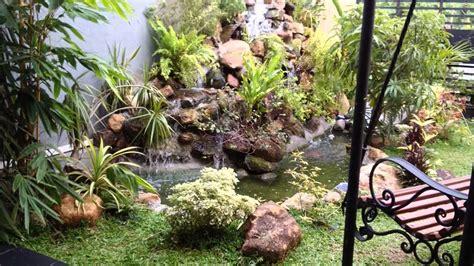 Garden Decoration In Sri Lanka by Sri Lanka Waterfall With Wood Bench Landscaping