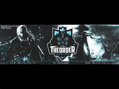 banner template de ts3 teamspeak3 banner speedart psd youtube