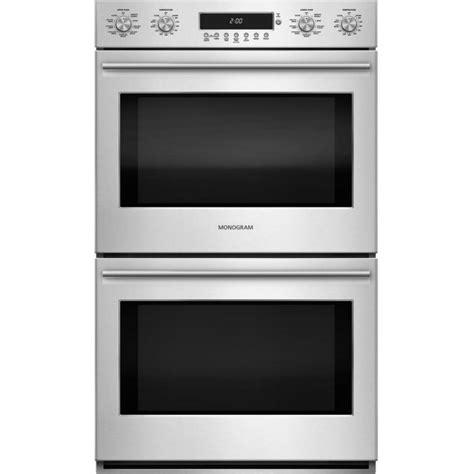ge zetshss monogram   smart  cu ft total capacity electric double wall oven