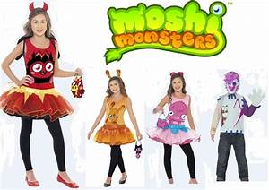 Moshi Monsters Kids Fancy Dress Official Costume Poppet