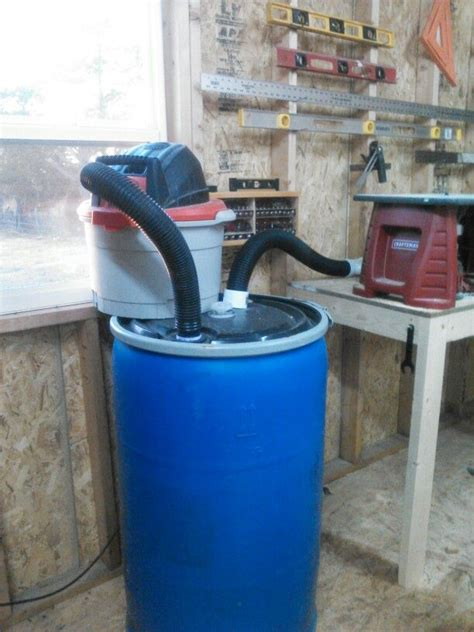 dust collector diy design woodworking projects plans
