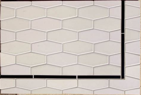 elongated hex tile elongate hex tiles eclectic tile los angeles by filmore clark