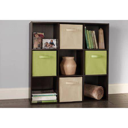 Closetmaid Cube Drawers - closetmaid cubeicals 9 cube organizer espresso walmart