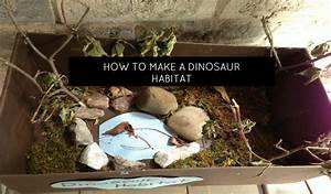 how to make a dinosaur habitat or diorama momstown national