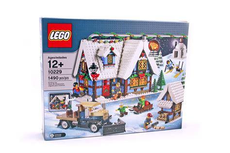 Winter Cottage Lego by Winter Cottage Lego Set 10229 1 Building Sets