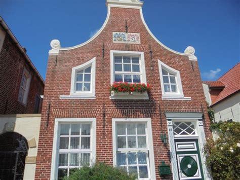 Giebel Haus Giebelhaus Bild Greetsieler Hafen Greetsiel