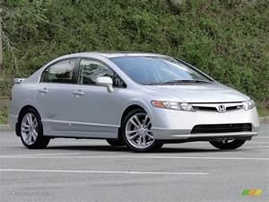 Honda Civic 2008 : alabaster silver metallic 2008 honda civic si sedan exterior photo 79518774 ~ Medecine-chirurgie-esthetiques.com Avis de Voitures