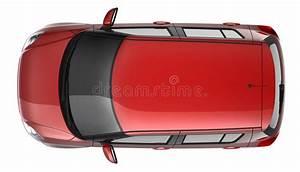 Voiture Vu De Haut : compact red car top view stock photo image of white 23854794 ~ Medecine-chirurgie-esthetiques.com Avis de Voitures
